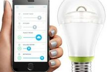 Light Control / The one Emberlight master unit has both Bluetooth LE and WiFi, so it can connect to additional Emberlights using Bluetooth. No hub or programming is required. The smart bulb adapter works with incandescent, dimmable CFL and dimmable LED bulbs.