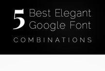 Fonts / Fonts, typography