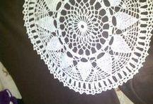 Moje robótki / Wykonałam szydełkiem i na drutach.
