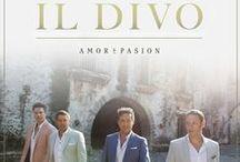 Il Divo Amor&Pasion / New album Sebastien Izambard,Carlos Marin,Urs Buhler,David Miller