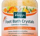 Foot soak / We love to soak it feet. What are your favourite foot soaks?