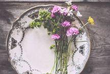 flores&folhas / Um pouquinho do que nós amamos: flores, folhas e cores!
