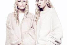 MUSE | Mary - Kate & Ashley Olsen / Brand Muses & Influences.