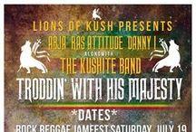 "Abja & The Lionz of Kush 2014 TOUR ""Troddin' with His Majesty"""