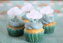 * FOOD * Rain & Cloud Dessert