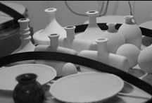 My Ceramic Studio / Pictures form the studio. Kilns, molds, wheel trowing. Everything that we do in our Studio to create beautiful ceramic :)