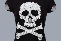 12) Lace & skulls & patterns