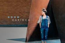 [boho carioca] / O jeans se une à leveza do boho e revela o frescor das ruas do Rio de Janeiro. Inspire-se!