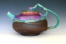 Teapots Ceramic / All kind of ceramic teapots I like.