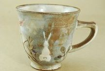 Cups&Mugs Ceramics / My favorite ceramic cups and mugs. Some made out of porcelain some of stoneware. All are beautiful.