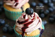 Cupcake, Muffin und Donut Liebe