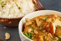 Asiatische und indische  Küchen Liebe