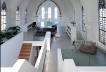 Churches/Kirchen  / converted living spaces
