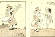 TON SMITS  (1921-1981),  cartoonist and painter /  De werken van Ton Smits zijn auteursrechtelijk beschermd. Indien u zijn werken openbaar wilt maken dient u vooraf toestemming te verkrijgen. Neemt u hiervoor contact op met de Stichting Ton Smits te Eindhoven. Ga naar: tonsmitshuis.nl/organisatie/index.html