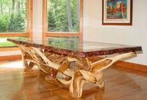 Rustic Wood furniture I LOVE!