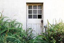 doors and outside the door