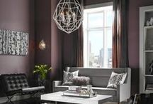 Luxurious Living Rooms / Lighting and interior design ideas for luxurious living rooms.