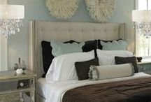 Master Bedroom Retreat / Lighting and interior design ideas for creating a Master Bedroom retreat.