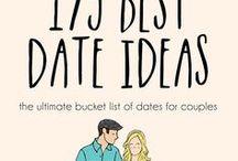 DATE NIGHT IDEAS / Date night ideas, fun dates, creative dates, dating
