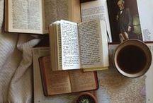Tea...book...coffee