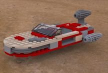 LEGO Creations / These are not photos. Instead, these are renders of digital models made using LEGO's Digital Designer software.