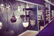 View in store! / Light fittings we have on display in the shop