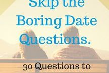 QUESTIONS + DATING / questions to ask when dating, questions for your girlfriend, questions for your boyfriend, what to get to know