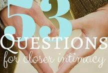 QUESTIONS + MARRIED / questions to ask your spouse, questions to ask your wife, questions to ask your husband