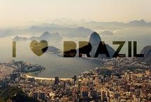 Brasil - Verde, amarelo, branco, azul-anil