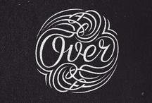Typography / by Szarlottka Baska