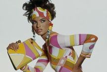 Emilio Pucci / I adore his coloures and patterns.
