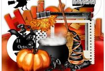 H'ween/Dark Scrap Kits  / These are unbelievably All FREE...  please remember to leave the awesome designers a thank you!  Also, please send me a message if you find an inactive or expired link.