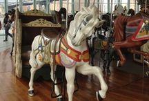 Carousel horses / by JoAnne Spencer