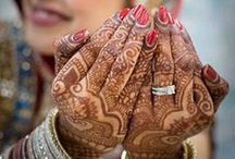 Mehndi / A collection of some of the finest bridal mehndi art, inspirations from around the world