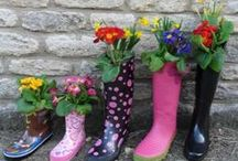 Upcycling / Waste not want not -  pass your unwanted items to someone who will give it a go and create a whole new look! Clever projects turning waste into worth!