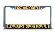 Religious License Plate Frame / Religious License Plate Frames not only protect your License Plate, but also protect you.