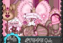 Easter Scrap Kits ftu / Coming soon!