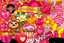 Valentine Scrap Kits / These are unbelievably All FREE...  please remember to leave the awesome designers a thank you!