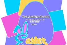Easter Tag Templates ftu
