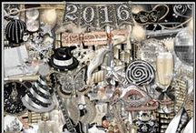 New Years Scrap Kits