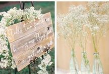W E D D I N G S / Our wedding inspirations