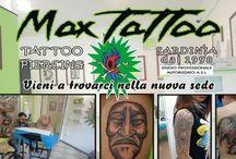 My works / #maxtattoosardinia  tattoo And piercing