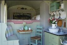Sheds and Outdoor Hideaways / Creative ideas on turning a shed or outdoor area into a hideaway haven within your garden!