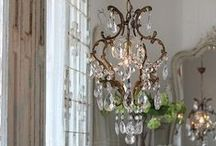 Chandeliers / Gorgeous vintage and contemporary chandeliers to make statement