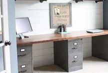 Industrial Living / Stylish pieces for adding a contemporary and industrial look to any home.