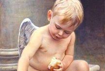 Anjos, Santos e Alados