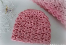 Crochet Baby and Toddler Hats