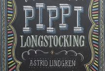 ♥ P I P P I   ♥  L Å N G S T R U M P ♥ / Pippi Longstocking ((Swedish: Pippilotta Viktualia Rullgardina Krusmynta Efraimsdotter Långstrump) is a fictional character in a series of children's books by Swedish author Astrid Lindgren, and adapted into multiple films and television series. / by Ꭶ α r α