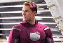 Captain America  / by Harley Thorpe