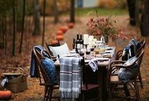 Tablescapes / Italian Style Table decorations